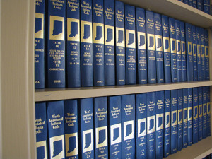 West's Annotated Indiana Code Law Books_72